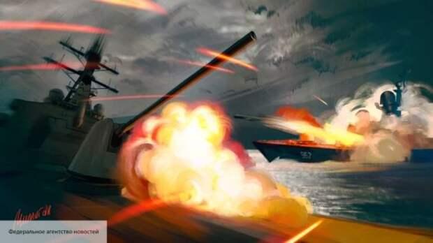В Китае рассказали, как Россия деморализовала моряков НАТО