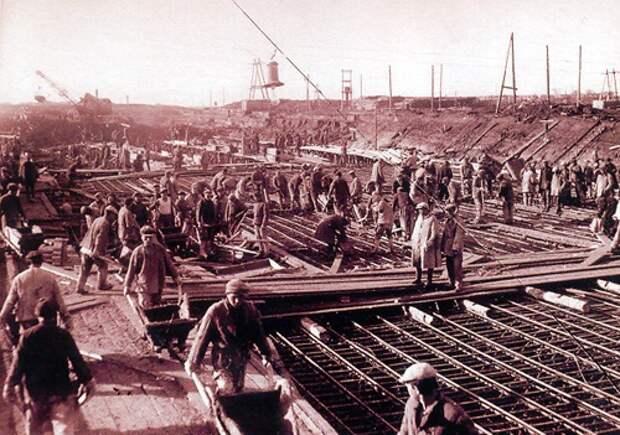 Строительство Беломорско-Балтийского канала