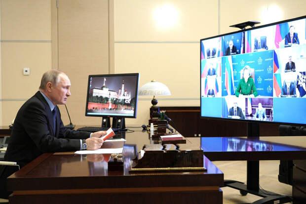 О квартирном вопросе Владимира Путина