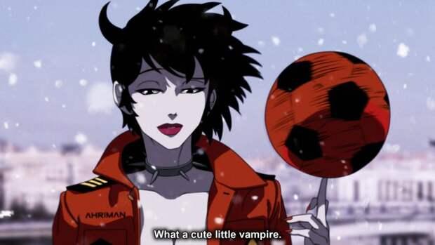 Отечественное кино в стиле аниме.