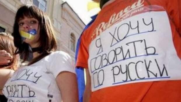 Провальная украинизация: украинцы не воспринимают навязываемый им государственный язык
