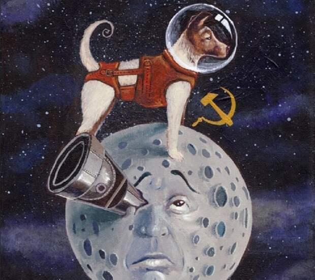 Как отреагировал мир на полет Лайки? «Спутник-2», день в истории, космос, собака Лайка