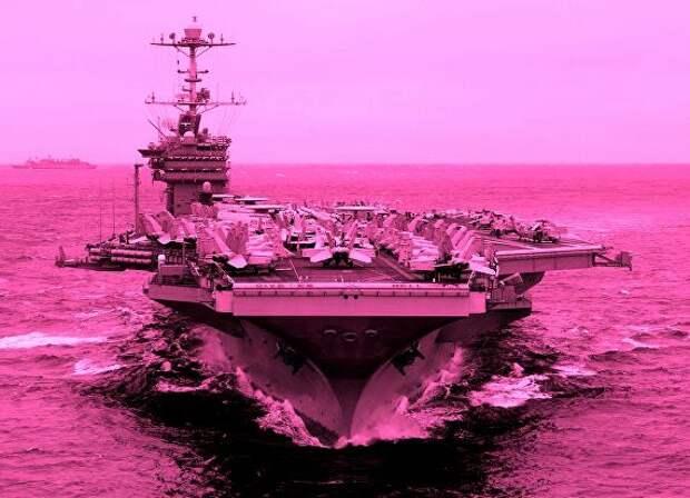 США собрались на морской театр военных действий без брюк, но в радужном галстуке...