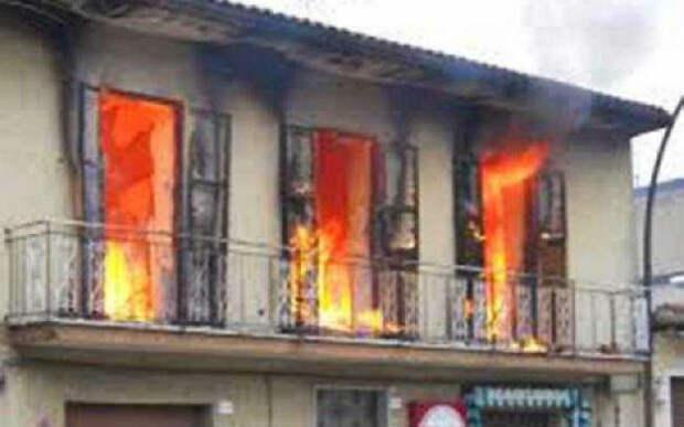 В городе возобновились случаи самовозгорания