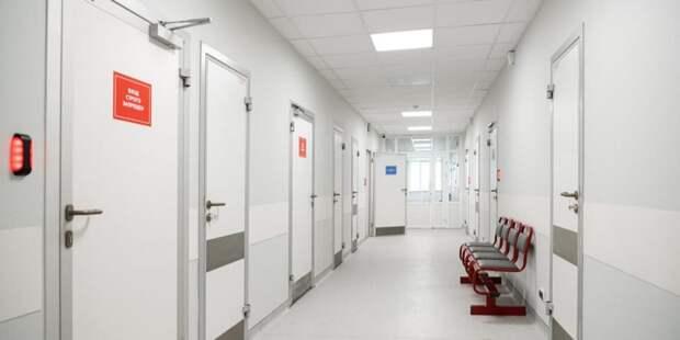 Собянин отметил темпы реализации программы реконструкции поликлиник. Фото: М.Мишин, mos.ru