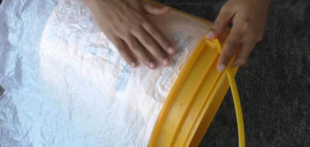 Когда может оказаться полезным обычное пластиковое ведро