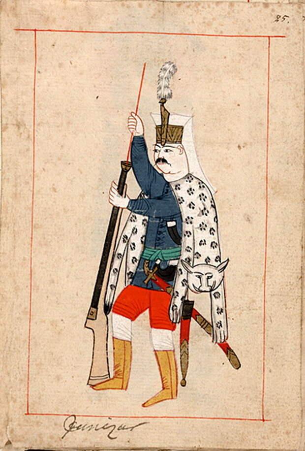 Рядовой янычар. commons.wikimedia.org - «Война двух царей»: последний аккорд | Warspot.ru
