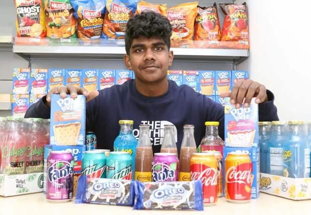 Конфетная лихорадка: подросток стал миллионером, продавая американские сладости вВеликобритании