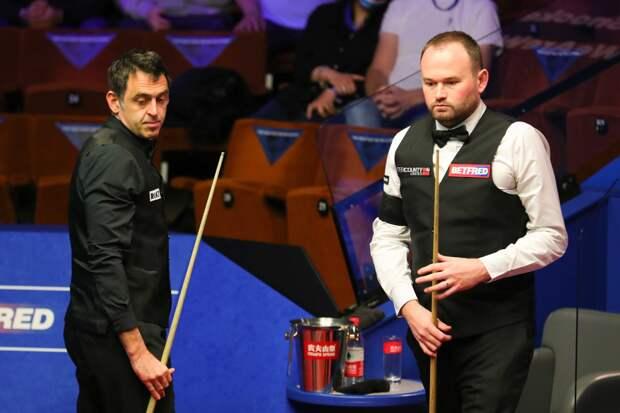 Видео 1/16 финала World Snooker Championship 2021