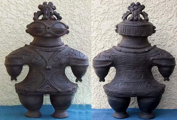 Японские скульптуры Догу: глиняные пришельцы