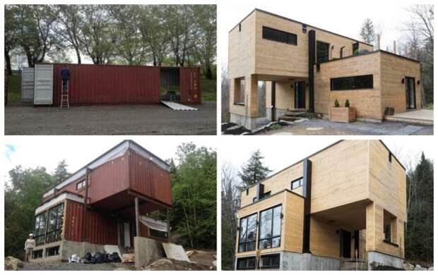 Клоди Дюбрейль спроектировала собственный дом из морских контейнеров. | Фото: soutaoboa.com.