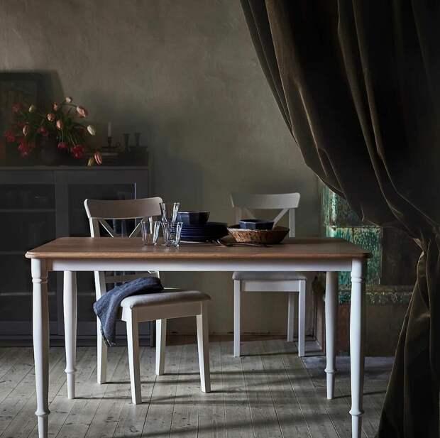 Дандэрюд – стол с эксцентричным названием от IKEA, непременно украсит вашу кухню