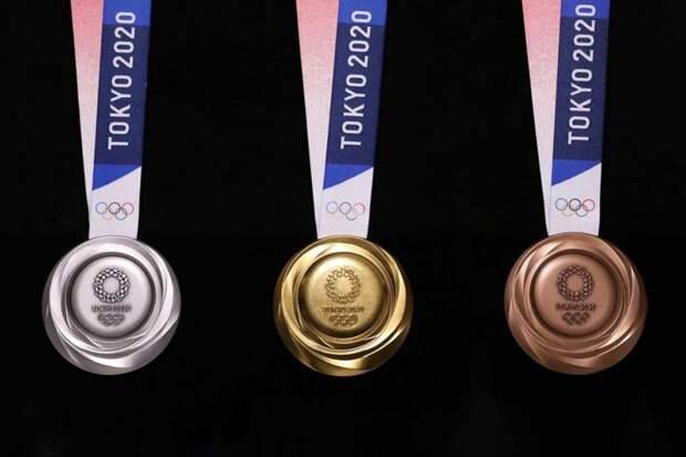 На Олимпиаде-2020 в Токио появятся новые медали. Они сделаны из мусора