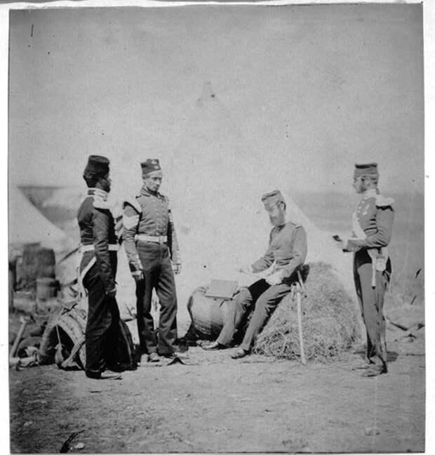 Английские фотографии Крымской войны 1853-1856 гг.