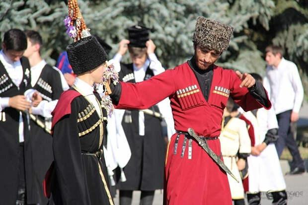 Мифические образы в обрядах черкесов