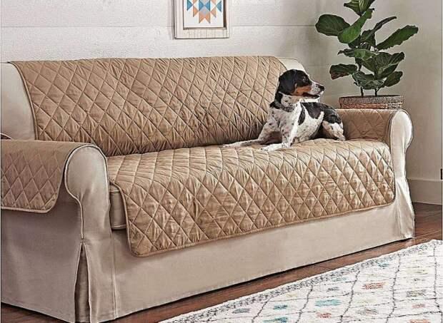 Выкройка мягкого чехла для диванов