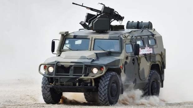 Российские бронеавтомобили «Тигр» пользуются популярностью на Ближнем Востоке