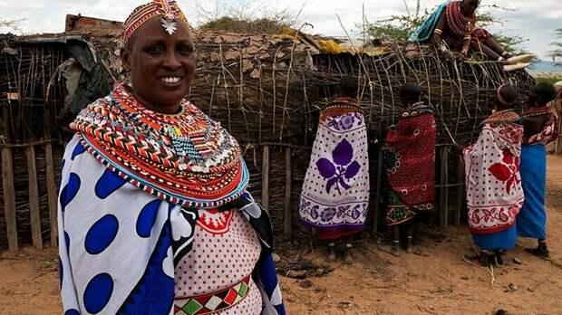 Ребекка Лолосоли, основательница женской деревни