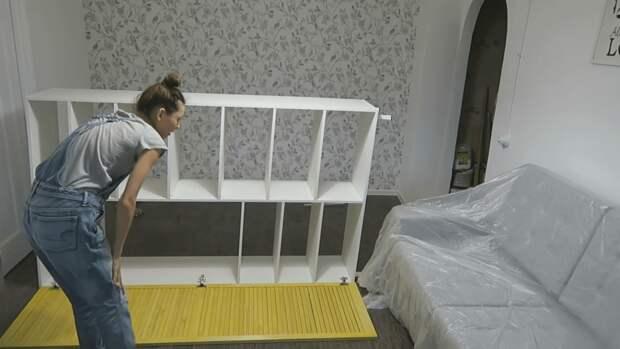 Девушка сама сделала крутой шкаф, лучше и дешевле магазинного