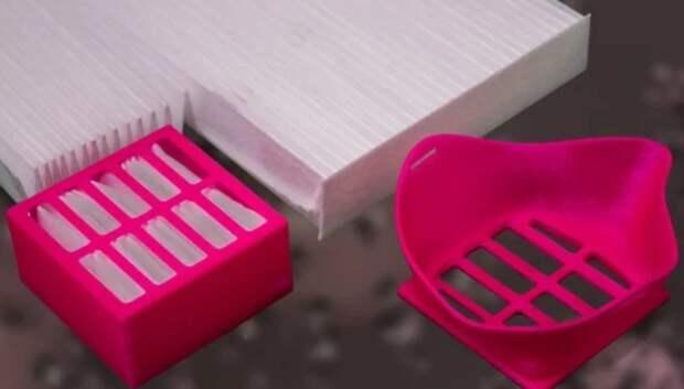 Массовую печать респираторов и масок на 3D‑принтере наладили в Подольске