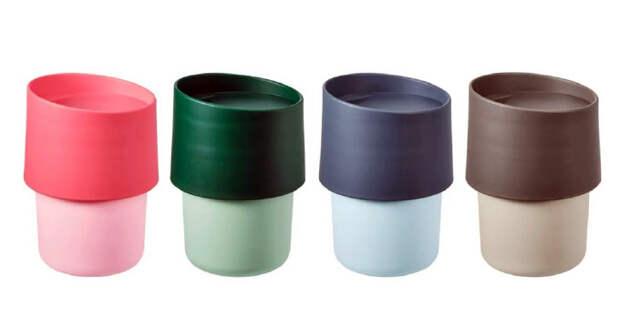 ИКЕЯ отзывает партию дорожных чашек TROLIGTVIS из-за их токсичности