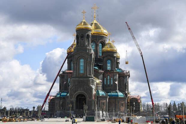 Названа дата открытия главного храма ВС России