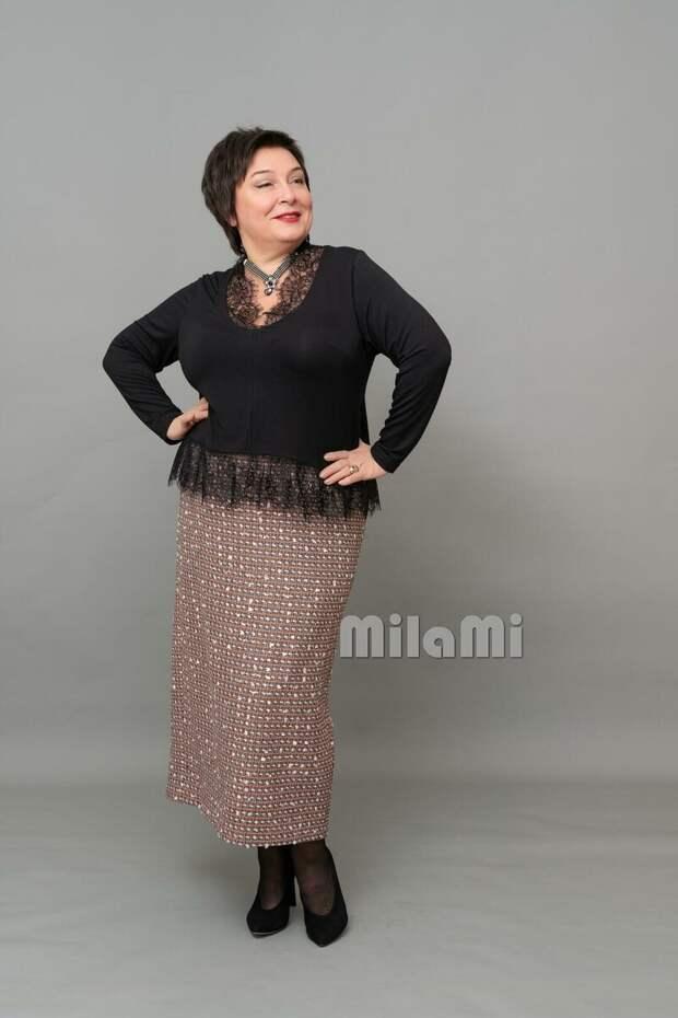 """Фото 6 -  юбка в стиле """"Шанель"""" и чёрная кофта - бред """"MilaMi""""."""