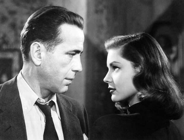 Бэколл и Богарт (муж) в «Большом сне», 1946 год (Wikimedia / National Motion Picture Council)