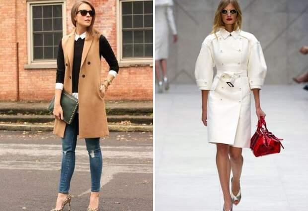 женское пальто осень 2017