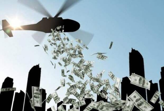 Осталось именно что разбрасывать доллары с вертолета: ФРС приступает к скупке коммерческих бумаг с рынка....