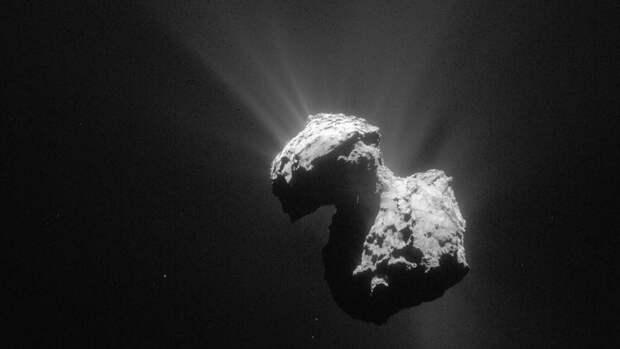 На комете Чурюмова-Герасименко ученые заметили движение