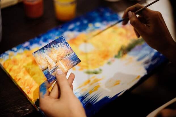 арт-свидание для двоих в студии рисования и живописи ZuART