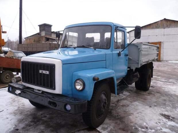 ГАЗ-3307 – самый популярный грузовик ГАЗ на сегодняшний день