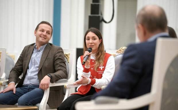 Встреча Путина с добровольцами: какие инициативы предлагают волонтеры