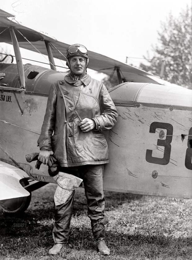 Самолеты и пилоты начала 20-го века на снимках американских фотографов (14)