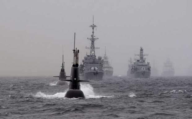 Корабли и подлодки НАТО пытаются блокировать силы ВМФ РФ вАтлантике