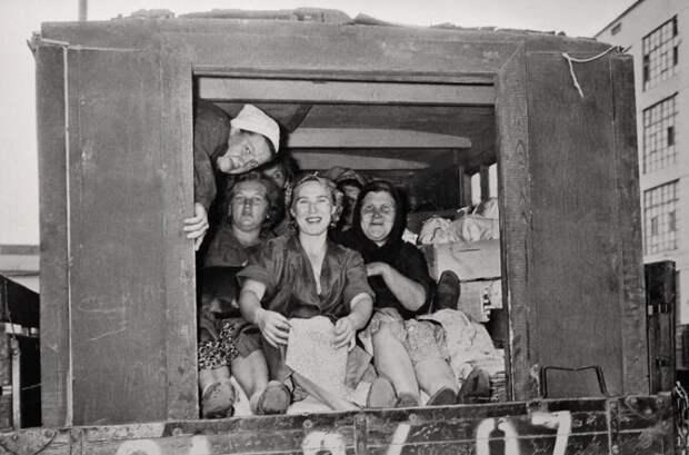 1957 год, Москва женщины, интересное, история
