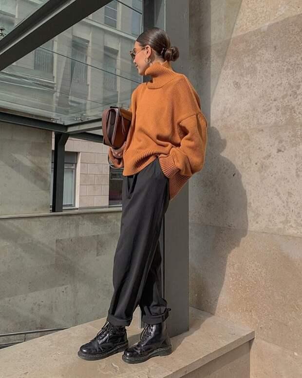 Как эффектно носить брюки этой осенью: 12 стильных решений