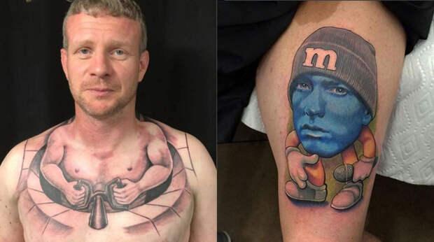И на эту и на ту я набью себе тату: 15 случаев, когда татуировка не удалась