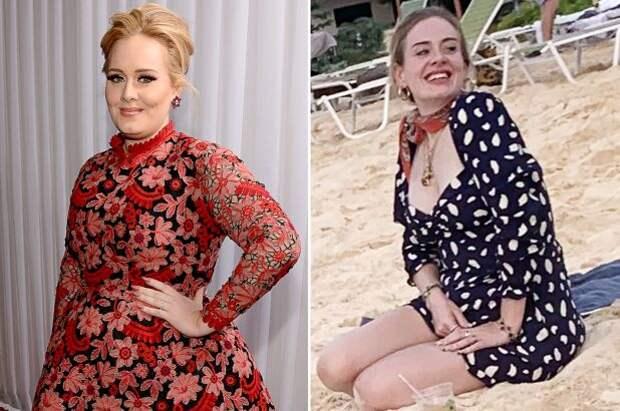 Адель похудела на 45 килограмм – теперь её сложно узнать