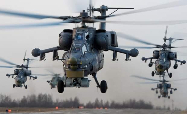 РФ начала переброску в Сирию своих боевых вертолетов
