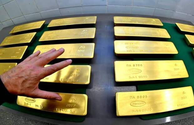 Кому принадлежит золотой запас России?
