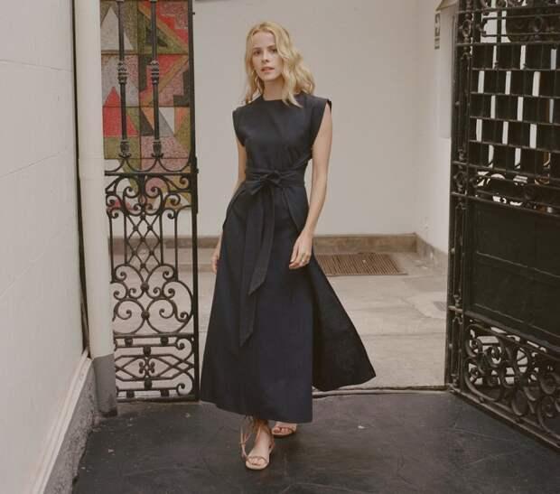 Платье без боковых швов