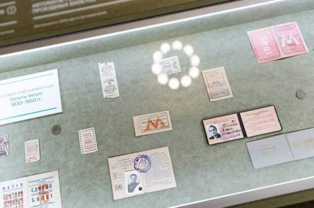 Эволюция проездных стала темой новой выставки на Северном речном вокзале