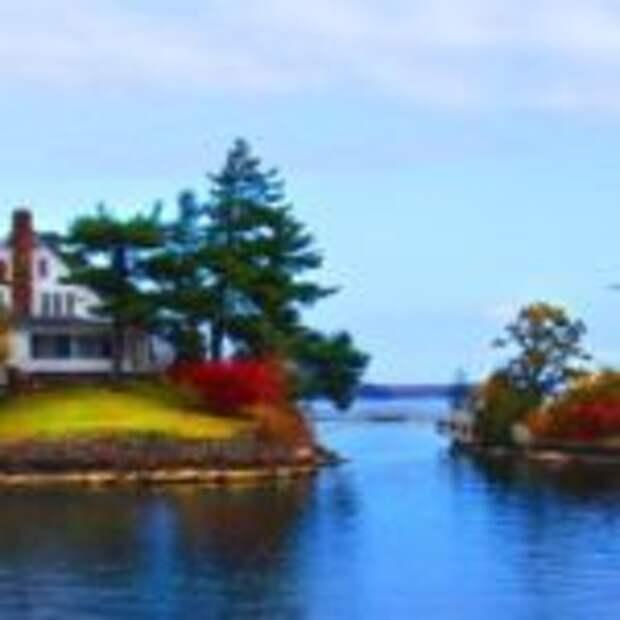 20 одиноких домиков на островах