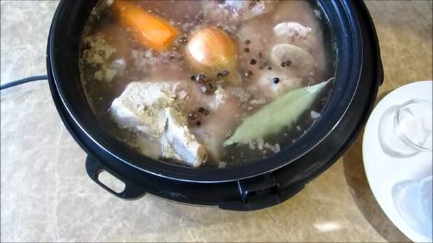 Главный рецепт к Новогоднему столу: куда ж без холодца! Холодец, Вкусно, Готовка, Рецепт, Другая кухня, Длиннопост, Видео рецепт, Мультиварка, Видео, Еда