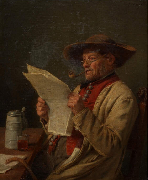 В этот день родился Август Фридрих Зигерт (1820—1883) - немецкий живописец.
