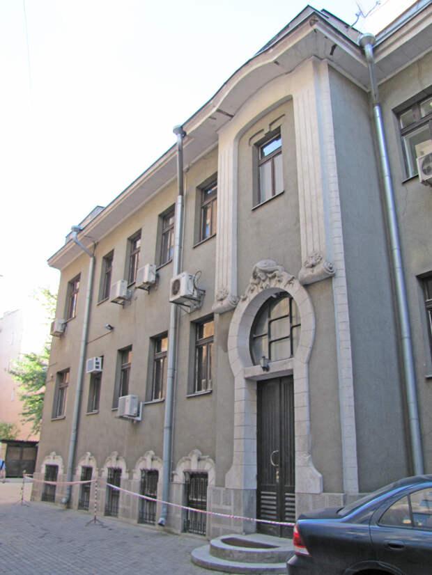Причудливый декор московских домов в стиле модерн, ч.3