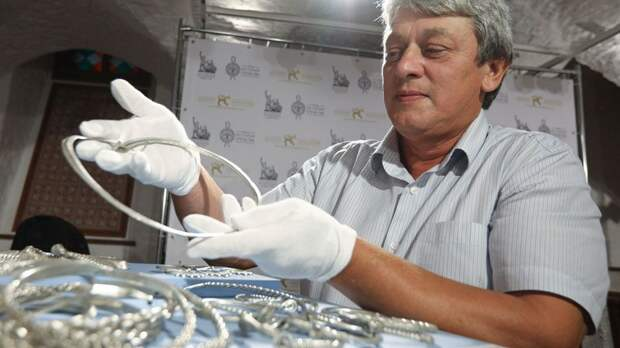 Суздальский металл и серебро Рязани