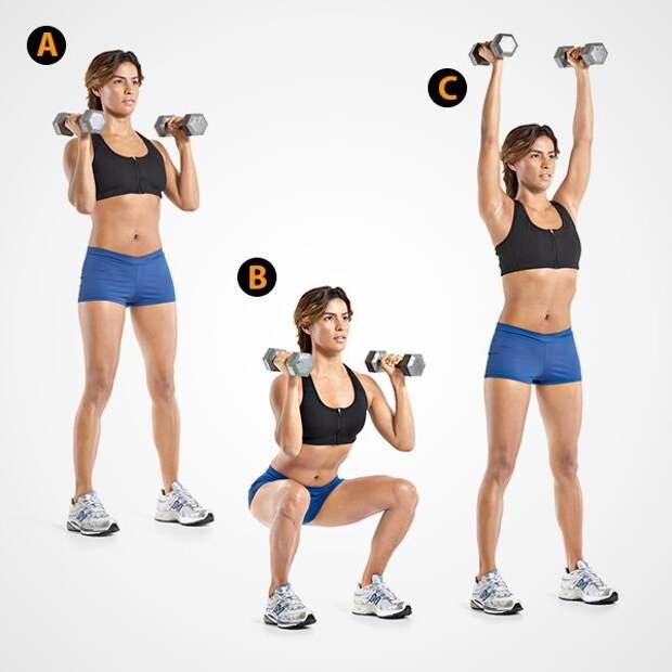 Выполняя эти 4 упражнения ежедневно, вы сожжете лишний жир и укрепите мышцы